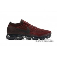 Man's Nike Air VaporMax In Red And Black 2018 Free Shipping
