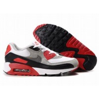 Nike Air Max 90 White Red Black Grey
